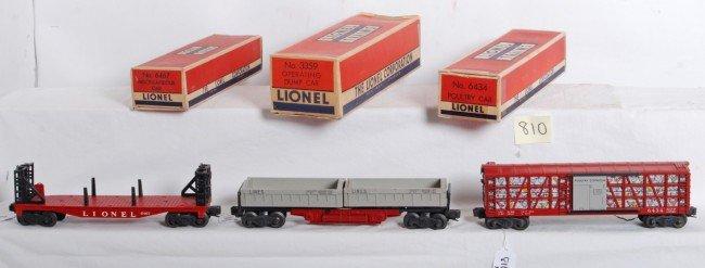 810: Lionel No. 6434, 3359, 6467 in OB