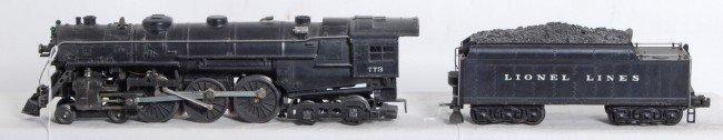 811: Lionel No. 773 steam locomotive w/2426W tender