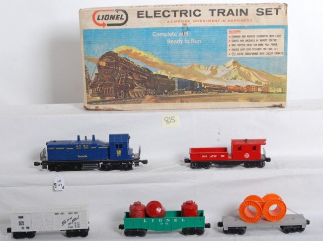 815: Lionel No. 11530 5 unit diesel freight set in OB,