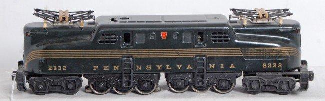 818: Lionel No. 2332 PRR five stripe GG-1 electric