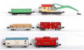 1410: Lionel 810, 811, 812, 814R, 816, 817 freight cars