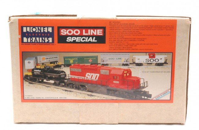3: Lionel Soo Line Special Freight Set 11738 MINT OB