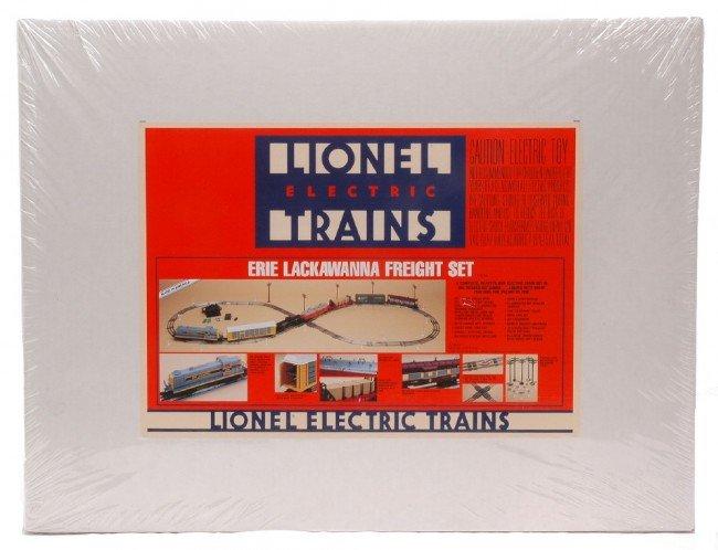 11: Lionel Erie Lackawanna Freight Set 11726 MIB