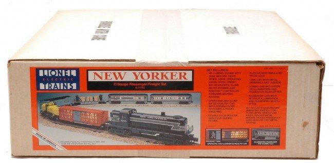 13: Lionel New Yorker Pass/Freight Set 11744 MIB