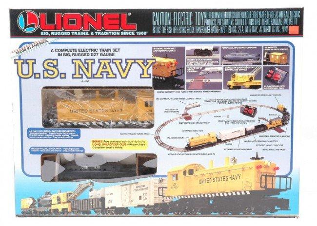 17: Lionel U.S. Navy Freight Set no. 11745 MINT OB