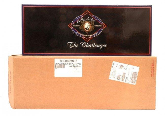 200: Lionel 28099 Gray UP Challenger JLC Series MIB