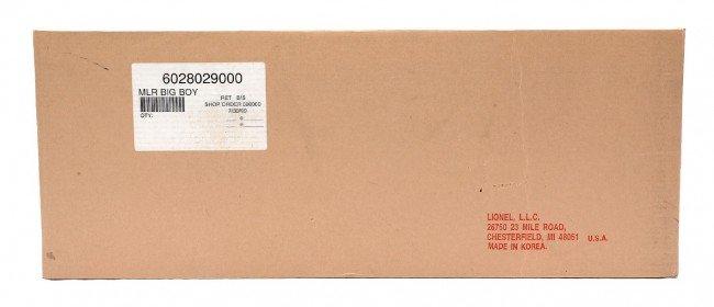 205: Lionel 28029 UP Big Boy Loco Factory Sealed OB