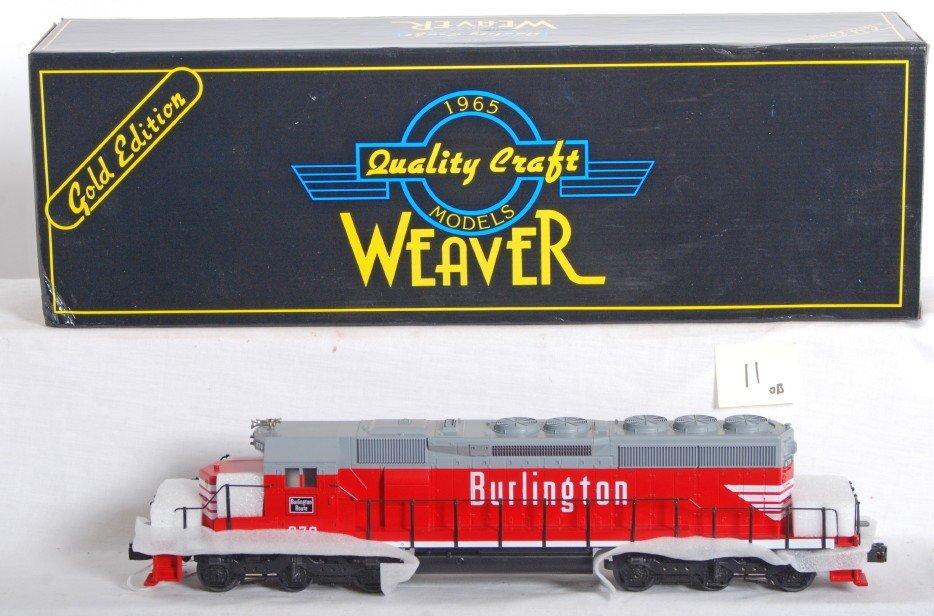 11: Weaver Burlington SD40 with Proto