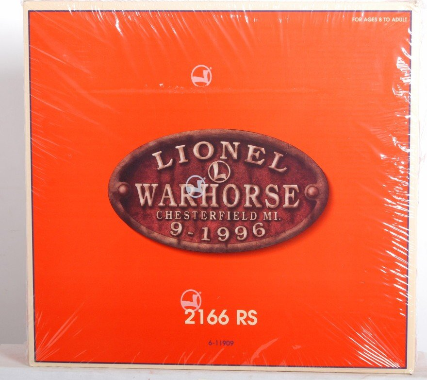 19: Lionel 11909 N&W warhorse set factory sealed