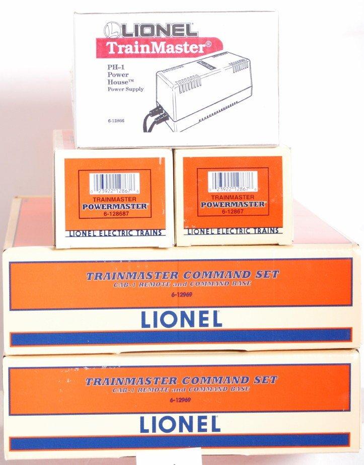 81: Lionel TMCC command sets, power houses etc
