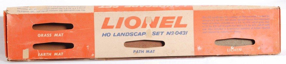802: Lionel No. 0431 HO Landscape Set in OB