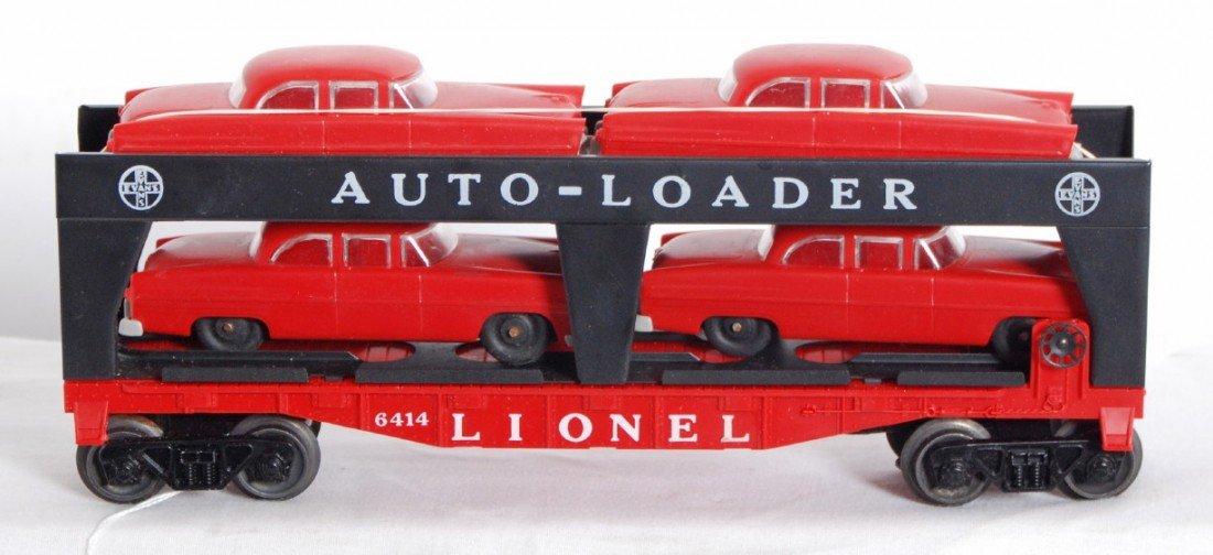 823: Lionel No. 6414 Evans Auto-Loader w/red autos