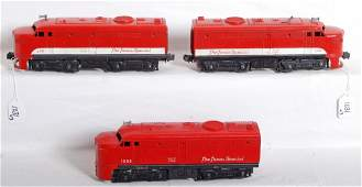 1031 Lionel 210 MKT Alco AA units 1055P MKT Alco A un