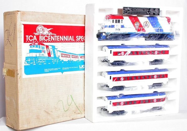 22: Lionel TCA Bicentennial Special, complete