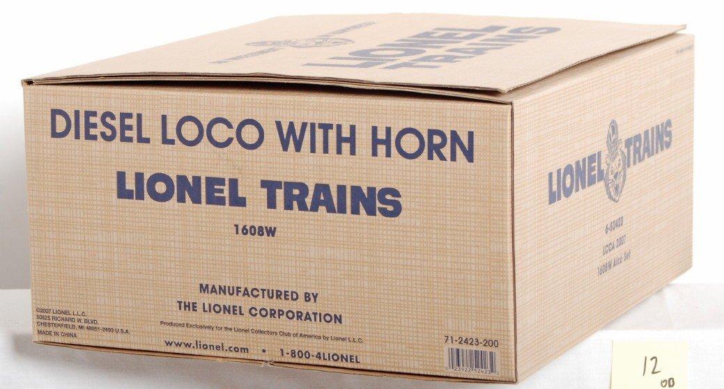 12: Lionel LCCA 52423 1608W Alco set