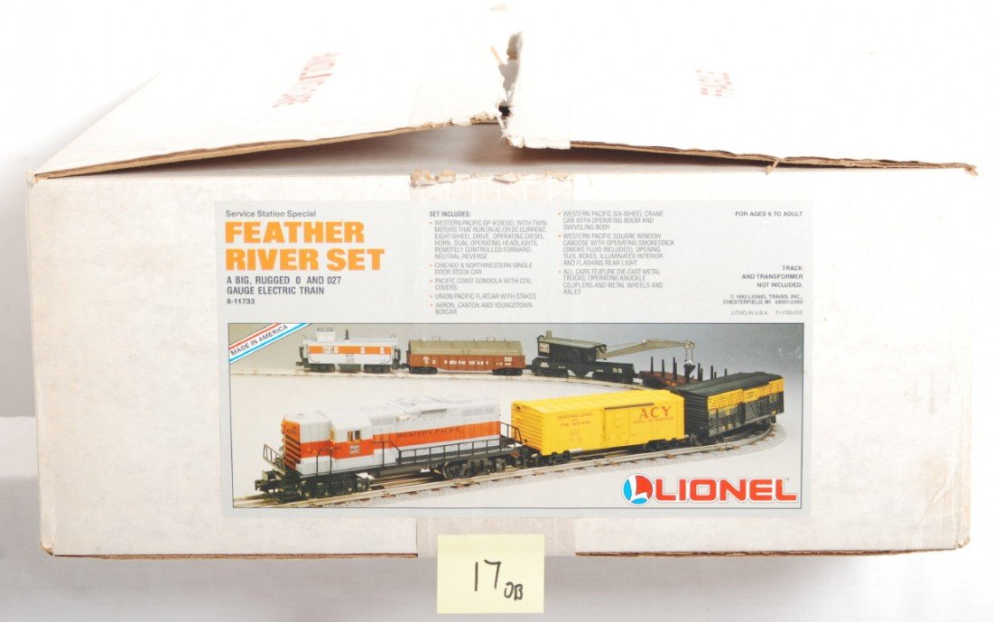 17: Lionel Service Station 11733 Feather River set