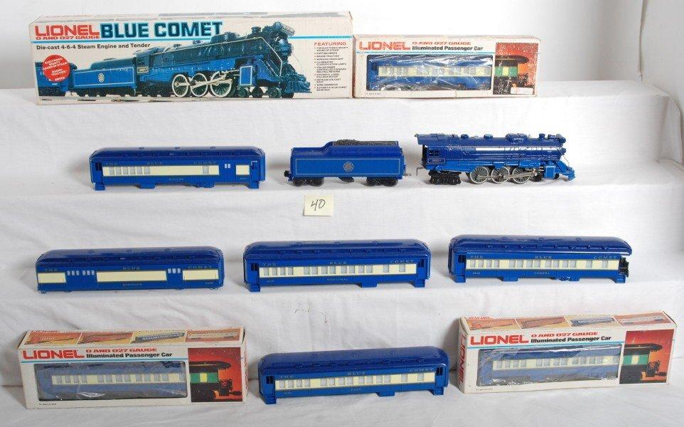 40: Lionel 8801 Blue Comet and passenger cars - 2
