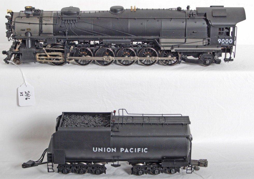 246: Sunset brass Union Pacific 4-10-2 steam locomotive