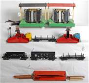 351: Lionel O gauge accessories two 164, two 397 four c