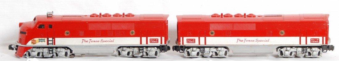801: Lionel No. 2245 MKT F3 A-B The Texas Special