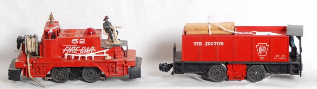 802: Lionel 52 and 5511 motorized units
