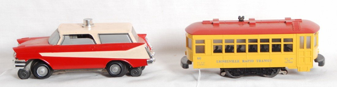 803: Lionel 60 and 68 motorized units