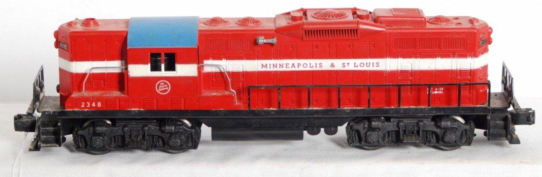806: Lionel 2348 Minneapolis and St. Louis GP-9