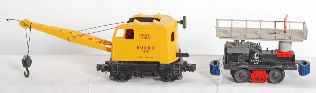 807: Lionel 69 and 3360 motorized units