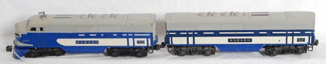 810: Lionel No. 2367 Wabash F3 A-B units