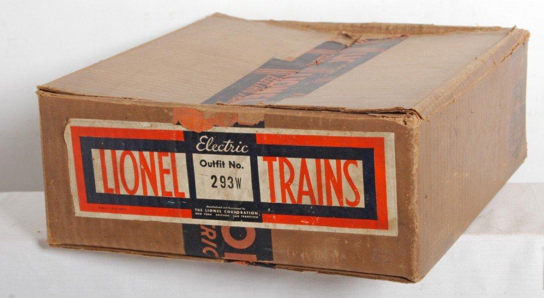 813: Prewar Lionel No. 293W freight set box