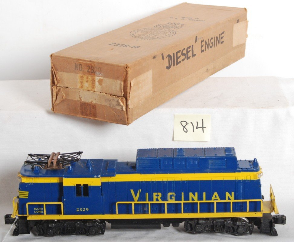 814: Lionel No. 2329 Virginian rectifier in OB