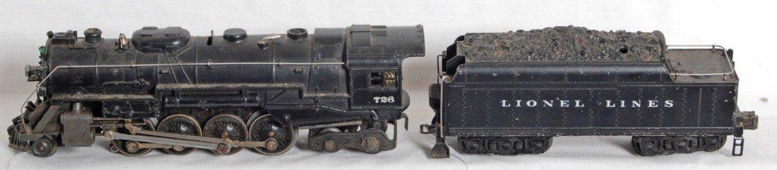 815: Lionel No. 726 Berkshire w/2426W tender