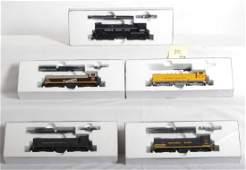 1152: 5 Stewart Hobbies VO-1000 locomotives