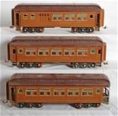 1190 Lionel standard gauge passenger cars