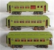 1198 Lionel prewar passenger cars 418 419 490
