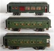 1393 Lionel standard gauge passenger cars