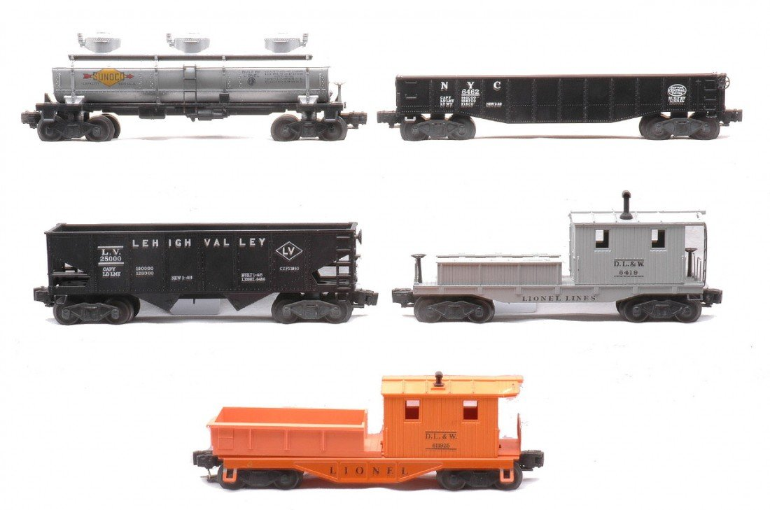 4: Lionel Freights 6415 6456 6462 6119-25 6419