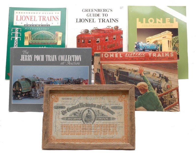 10: Selection of Lionel Books and 1933 Catalog