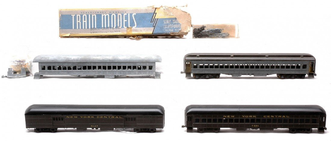 21: Scale Models NYC Passenger Cars Scale-Craft