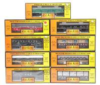 194 RK MTH Selection of Freight Cars wLoads MIB