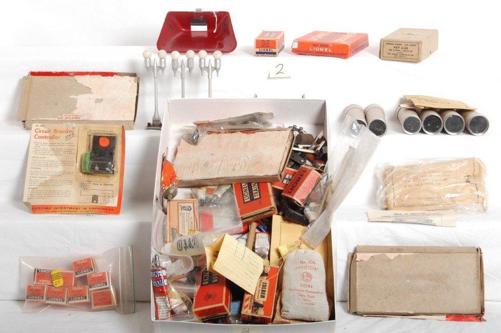 2: Huge lot of Lionel postwar accessories, pieces, part