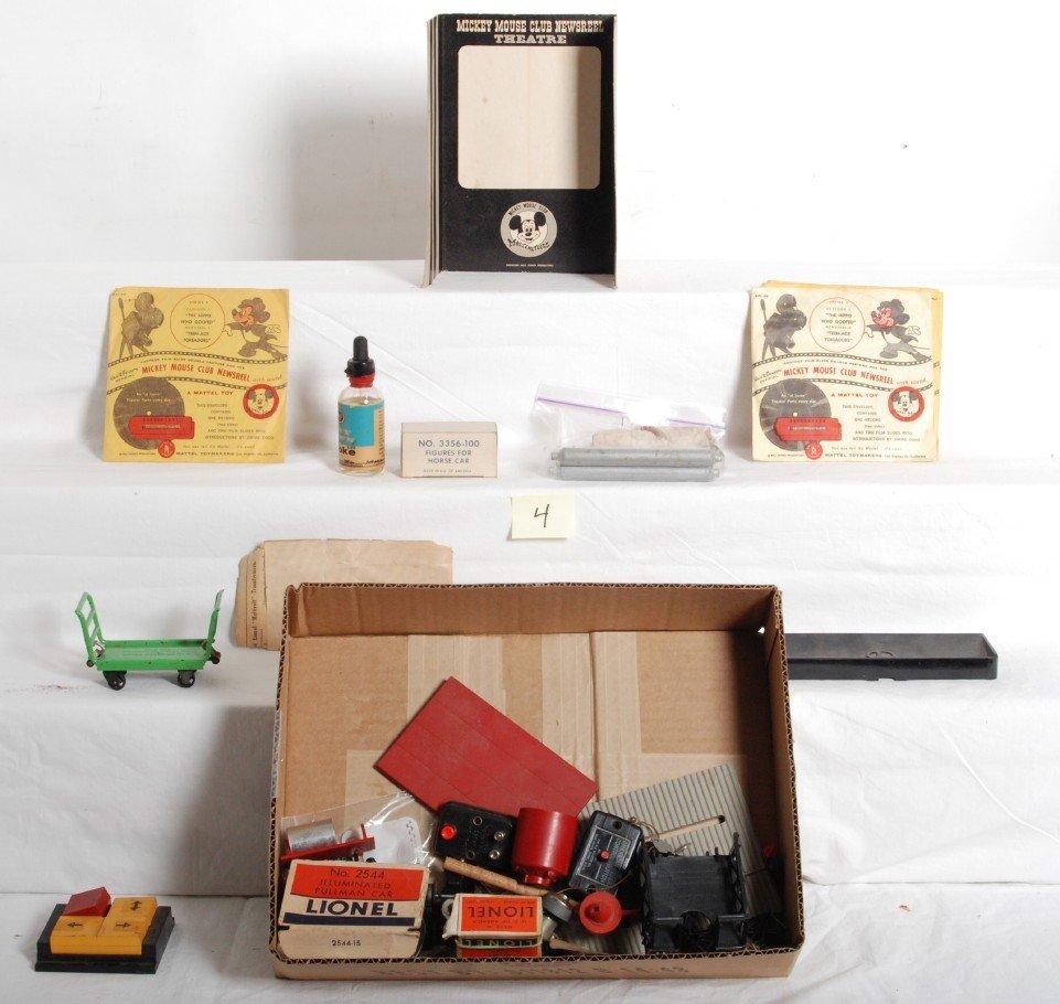 4: Lionel postwar accessories, parts, pieces, more