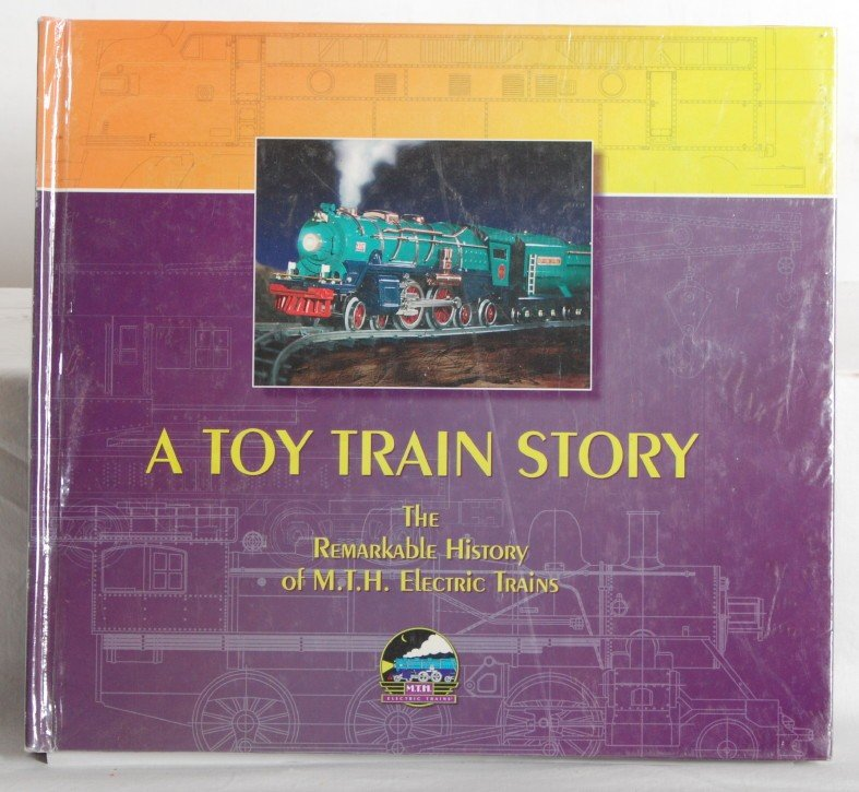 15: A Toy Train Story  MTH hard bound book