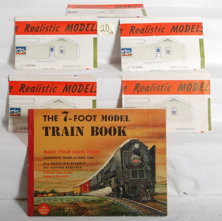 20: 1948 Lionel Realistic Models posters, The 7-Foot bo