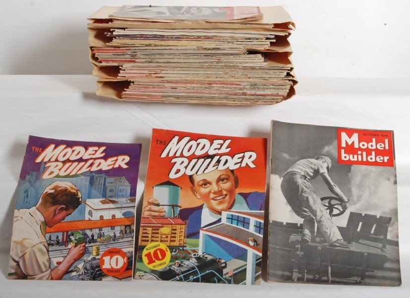 21: Seventy-six issues of Lionel Model Builder 1937-194