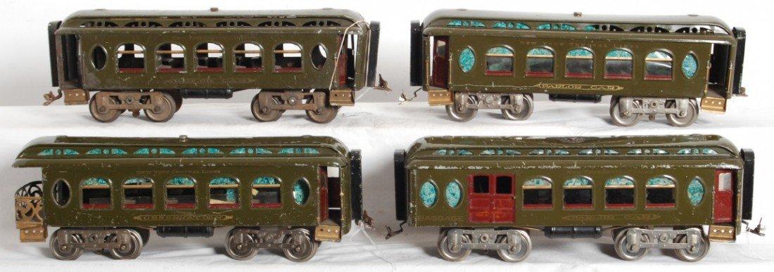 548: Lionel 18, 18, 19, 190 standard gauge passenger ca - 2