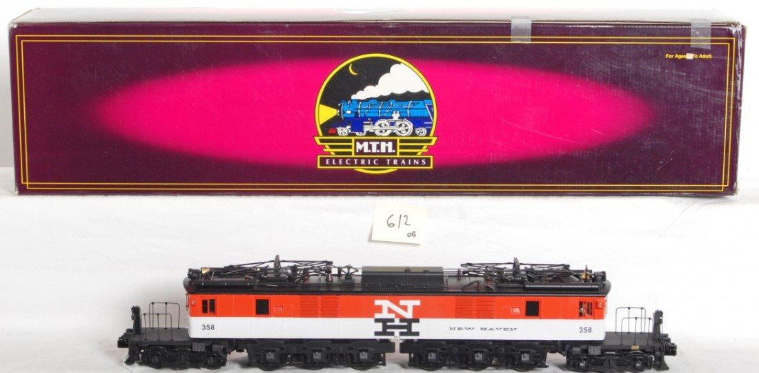 612: MTH New Haven EP3 with Proto 2