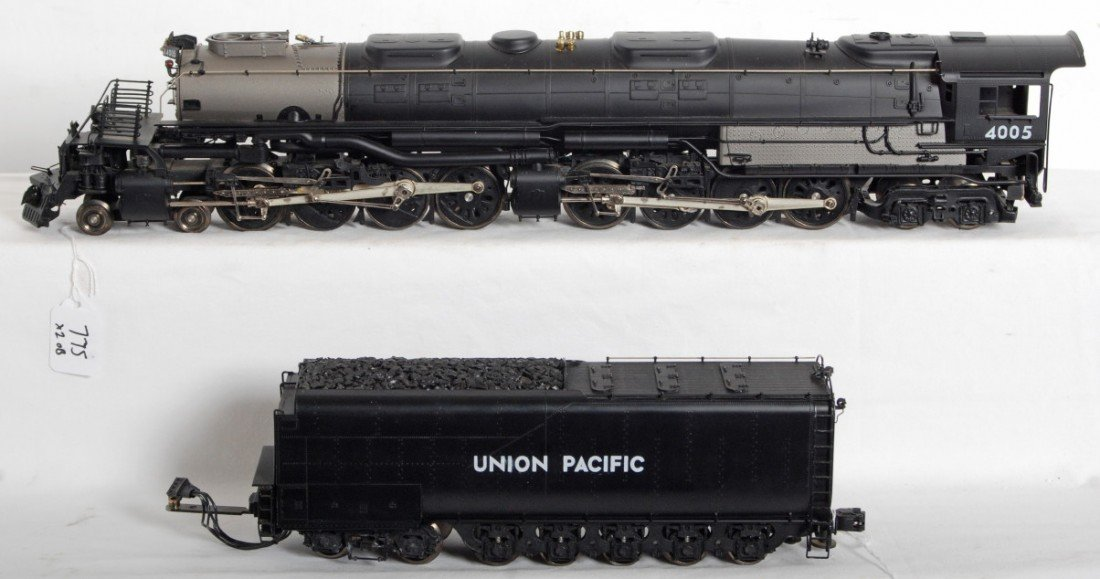 775: 3rd Rail Union Pacific brass big boy
