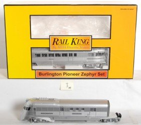 Railking Burlington Zephyr Set With Proto