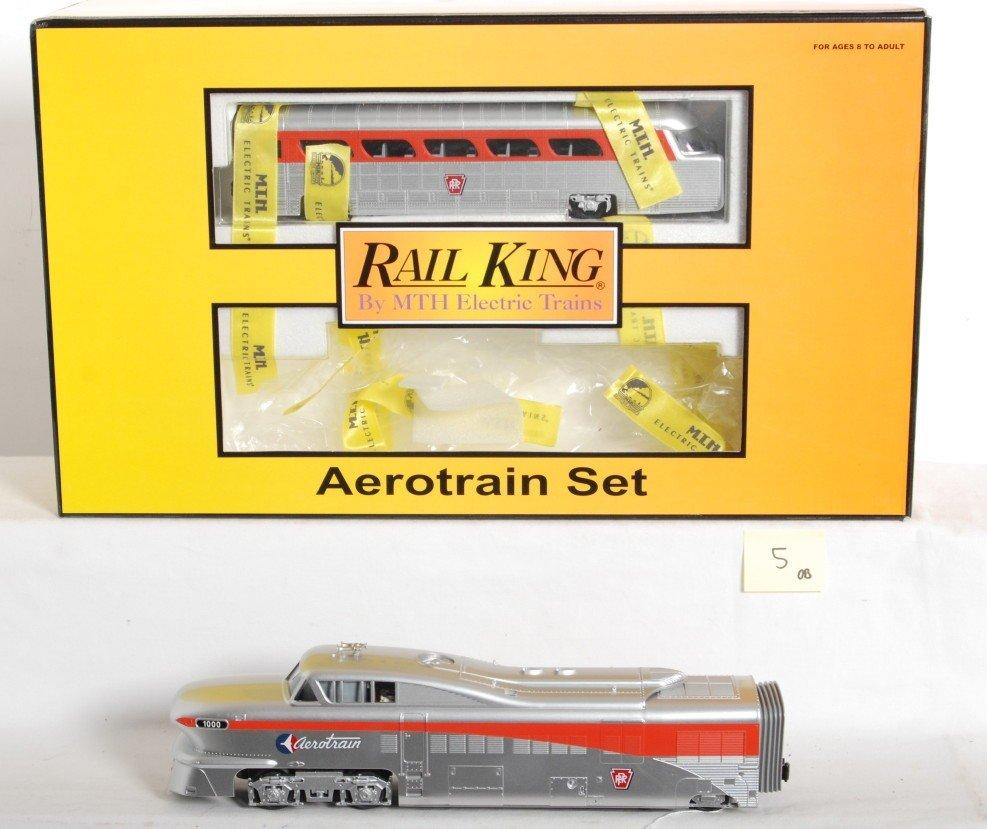 5: Railking Pennsylvania Aerotrain set with Proto 2.0